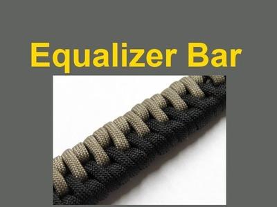 How to make an Equalizer Bar Paracord Bracelet Tutorial (Paracord 101)