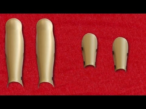 How to make greek bracers and greaves