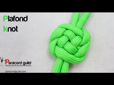 How to tie the plafond knot