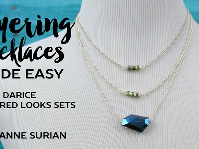 Layering Necklaces Made Easy