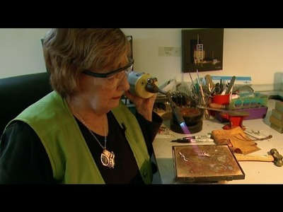 Cathy Sutton: Fusing Organic Shapes in Metal and Glass