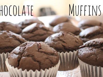 Chocolate Muffins Recipe   sweetco0kiepie
