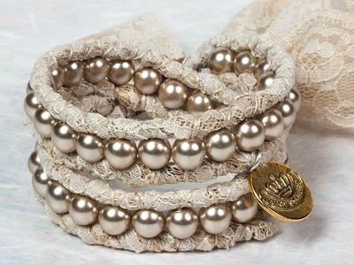Design 11:The Camellia Wrap Bracelet