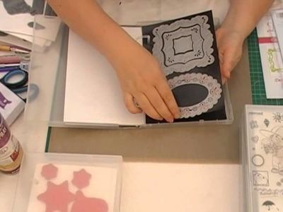 Die and Rubber Stamp Storage