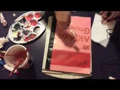 DIY: Ariana Grande Notebook