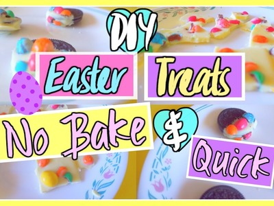 DIY Easter Treats - No Bake & Yummy | Aianna Khuu