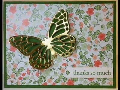 Easy Butterfly Card