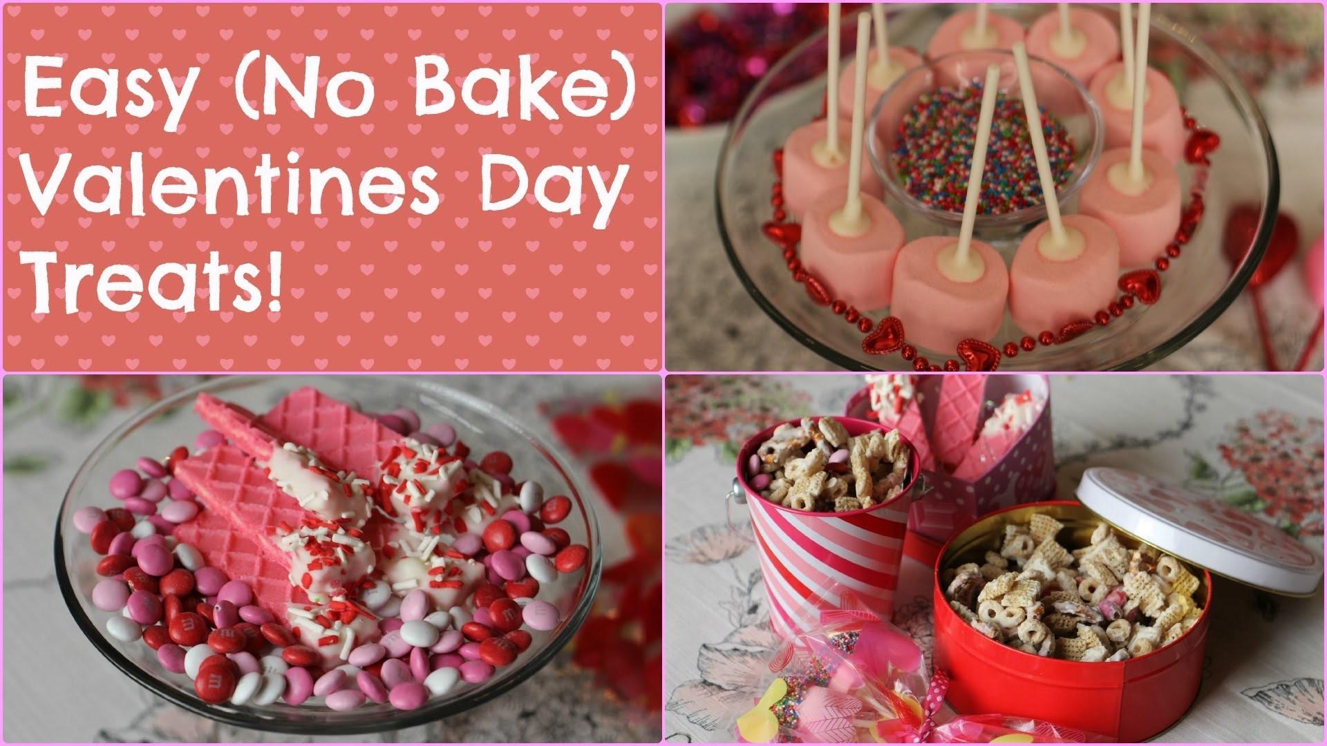 Easy (NO BAKE) Valentines Day Treats ||BeautyAllure06