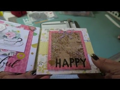 Flip Book Tutorial~ Super Easy Flip Book With Gussets!  For A Chunkier Style :)