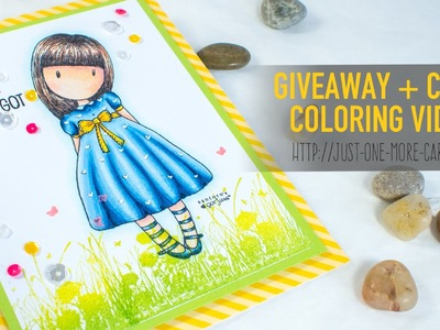 Giveaway + Copic Coloring Video