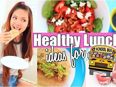 Healthy & Easy Lunch + Snack Ideas for School! 2015
