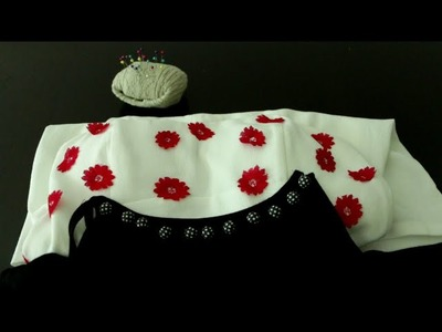 How To Decorate Clothes with Buttons and Lace