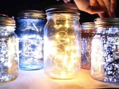 How To Do Your Own Mason Jar Lights