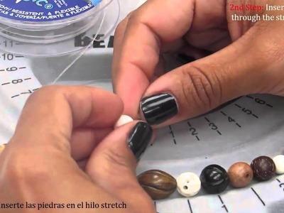 How to make a boho chic bracelet