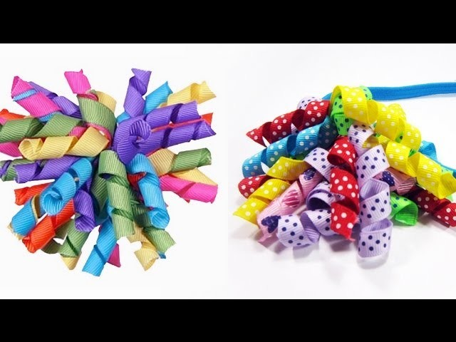 How to make a korker ribbon hairband - EP