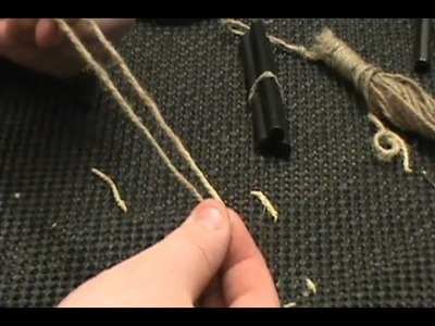 How To Make A Paracord Bracelet Fire Kit