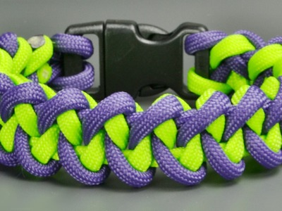 How to make a Shark Jaw Bone Paracord Bracelet