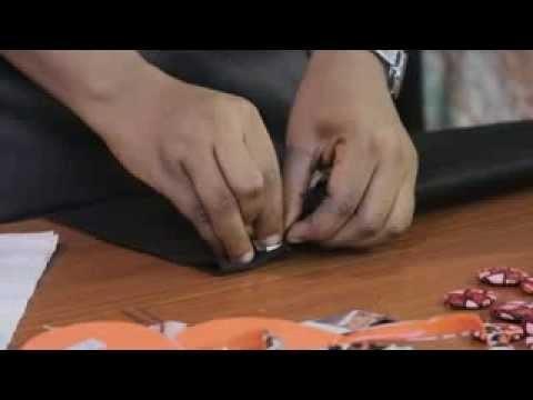 How To Make Ankara Button Neck Pieces