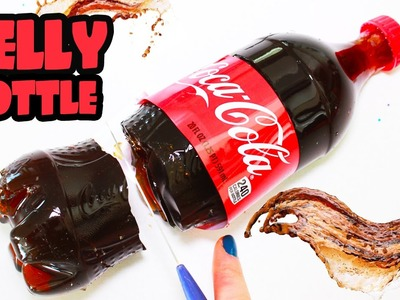 How to Make HUGE Coca Cola Jelly Pudding Bottle Dessert Gummy Soda Jello | Toy Caboodle
