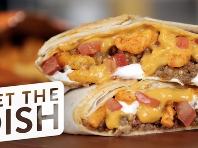 How to Make Taco Bell Cheetos Crunch Wrap Sliders | Get the Dish