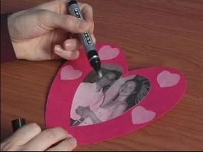 How to Make Valentines Day Cards : How to Write a Valentine Card
