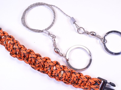 How to Put a Wire Saw Into Survival Paracord Bracelet - BoredParacord
