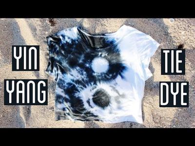 How To Tie Dye a Yin Yang