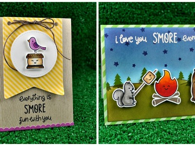 Intro to Love You S'more + 2 cards from start to finish