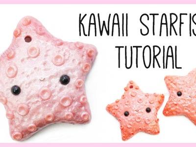 Kawaii Starfish ●  NO MOLD Polymer Clay Tutorial
