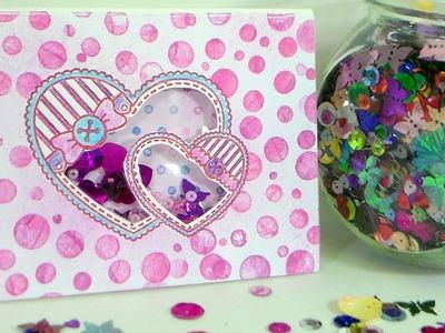 Love Shake Baby! Stamp School Shaker Card