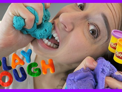 Making Edible PlayDough!