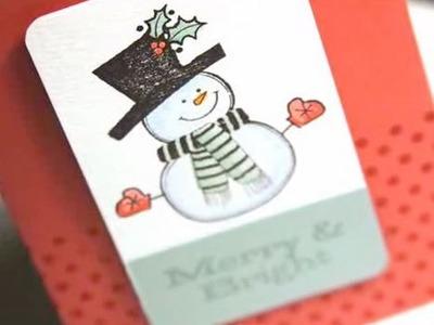 Merry & Bright - Make a Card Monday #27