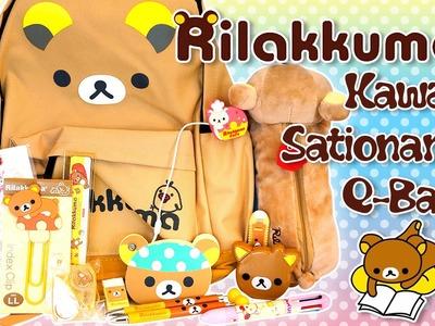Rilakkuma Q-Bag. Q-Box - Kawaii Monthly Surprise Subscription Box Unboxing