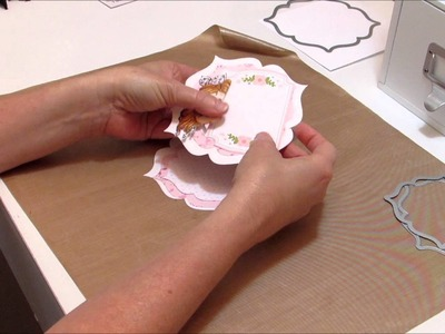 Shaped Easel Card Tutorial & Card Share