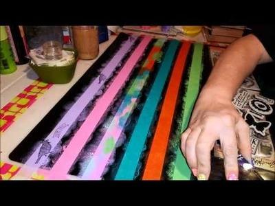 Tutorial: How To Make Homemade Washi Tape!