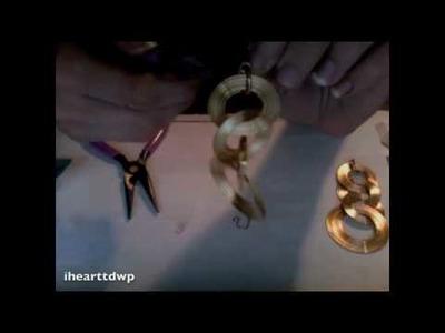 Tutorial: transforming pierced earrings into non-pierced earrings