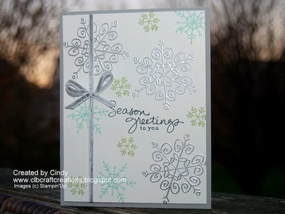 2014 Holiday Card Series Day 11 featuring Endless Wishes by Stampin'Up!
