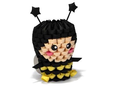 3D Origami Bee Tutorial