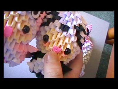 3D origami: rabbit suit part 3