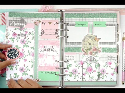 #5 How I set up my daily pages for my kikki.K Planner | DECORATE WITH ME | Filomioz
