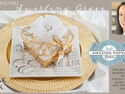 APG Introducing Spellbinders Swirling Grace by Amazing Paper Grace