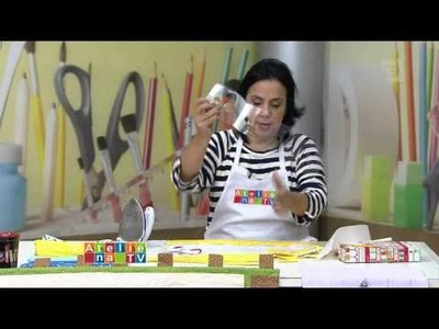 Ateliê na TV - TV Gazeta - 03.02.16 - Deize Costa