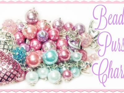 Beaded Purse Charms **V-Day Themed**