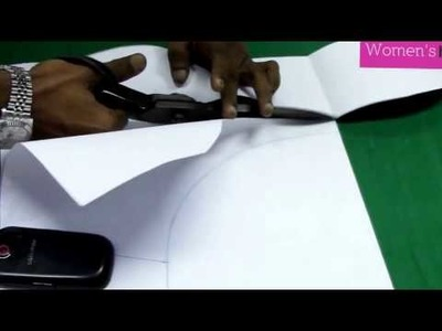 Bra Cut Blouse (Party Blouse) - 1. Marking & Cutting Pattern Making