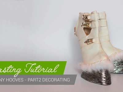 Casting Tutorial - How to make pony hoof shoes (Part2) [ENG]
