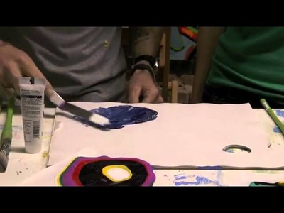 Creating Acrylic Sheets with Liquitex