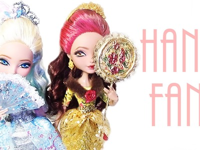 Darling's and Rosabella's Hand Fans [EVER AFTER HIGH]