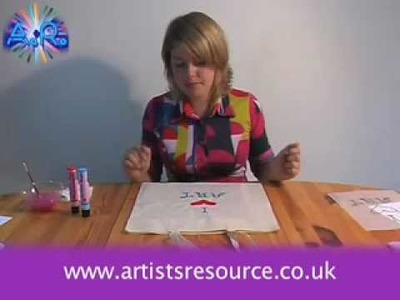 Decorate your Shopping Bag - Fabric Painting project - Art and Craft