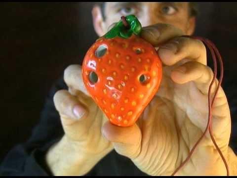 Demo of the Strawberry Pendant Ocarina