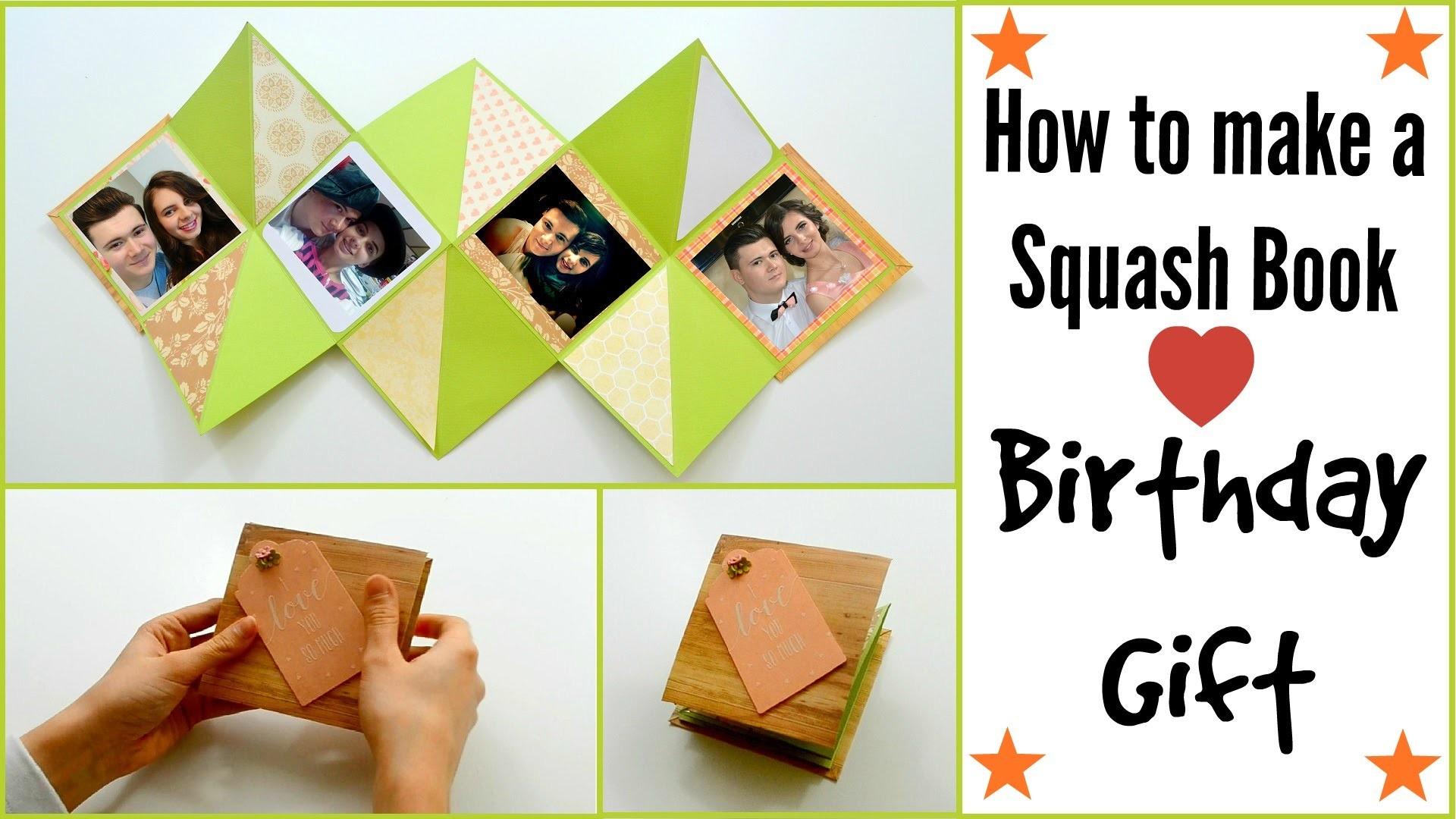 Diy Paper Crafts How To Make A Squash Card Squash Book